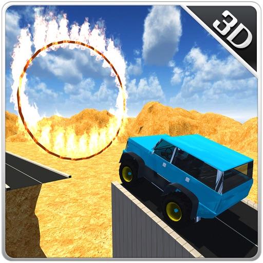 Offroad 4x4 Mountain Jeep – Mega Stunt Simulator