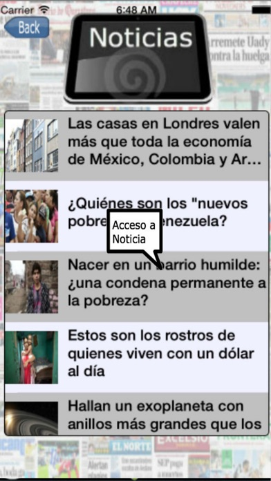 Entre Noticias Mexico screenshot two
