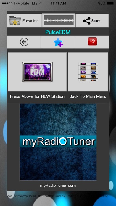 myRadioTuner Screenshots