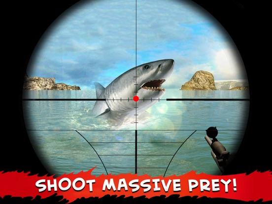 Screenshots of Hungry Piranha Hunting - Shark Spear-fishing world for iPad