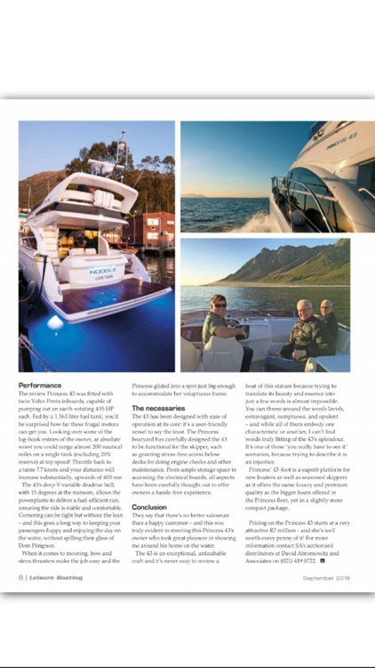 Leisure Boating Magazine screenshot-3