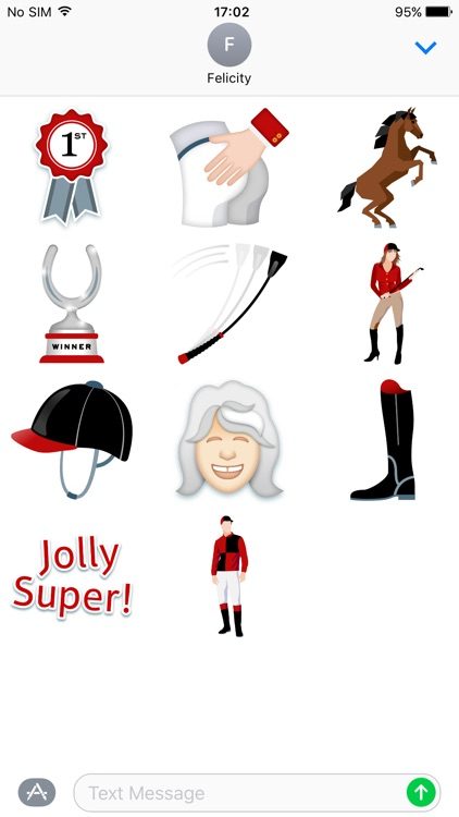 Jilly Cooper Stickers