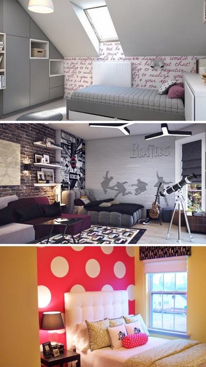 Teen Room Decor Ideas, Teenager Room Designs Plans screenshot-3