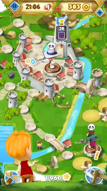 Fantasy Journey Match 3 Game: Jewels Matching Saga screenshot-4
