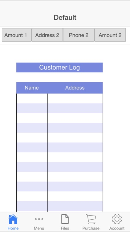 Customer Log screenshot-4