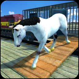 Horse Transport Train Simulator 3D – A locomotive Transporter Simulation