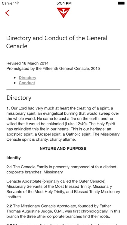 Ordo - Trinity Missions Daily Prayer Book