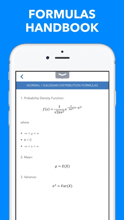 Probabilities of Statistical Distributions screenshot-3