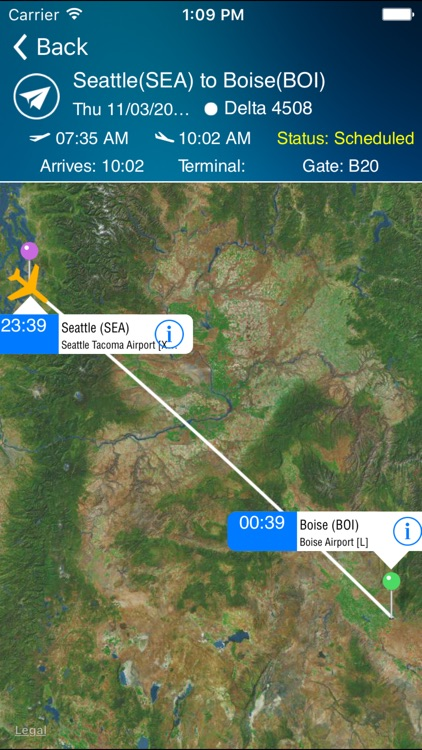 Boise Airport Pro (BOI) + Flight Tracker screenshot-1