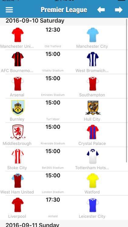 English Football League (Premier & Championship)