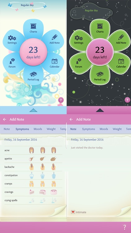 Period Diary (Period, Fertile & Ovulation Tracker) screenshot-4