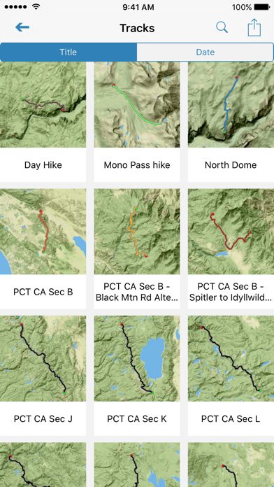 Gaia GPS Classic iOS Application Version 10 9 16