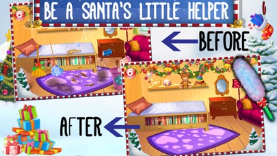 Crazy Santa's Xmas House Cleaning screenshot two