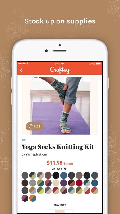 Craftsy app image