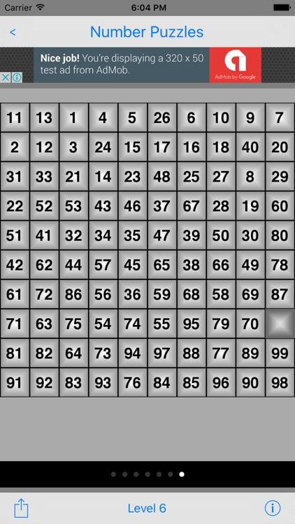 Number-Puzzles screenshot-4