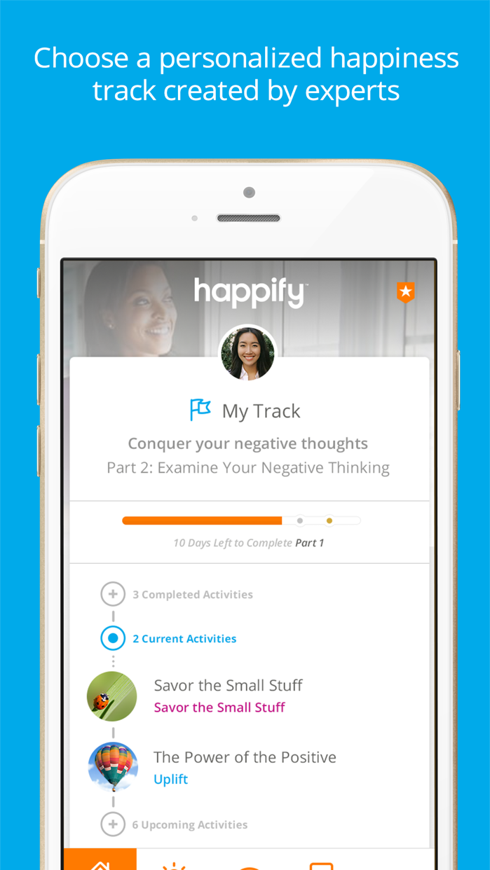 Happify: for Stress & Worry Screenshot