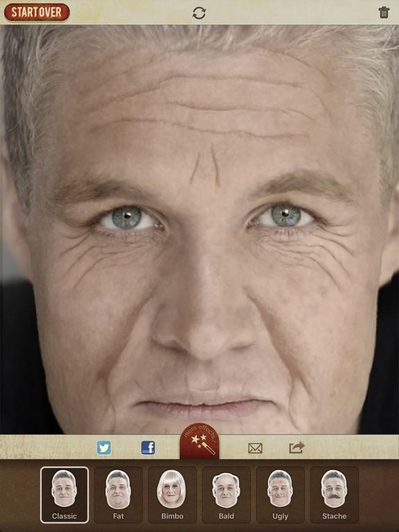 AgingBooth iPad