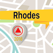 Rhodes Offline Map Navigator and Guide