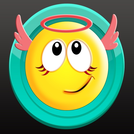 Yellow Smiley Emoji Stickers Faces for iMessage