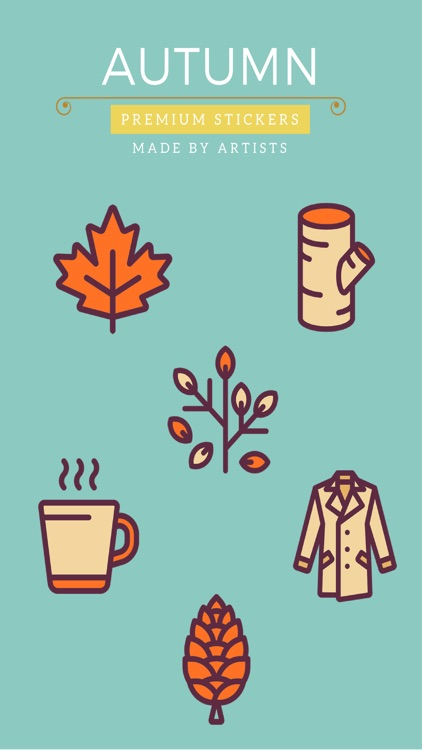 Autumn Stickers - Pumpkin Spice Latte