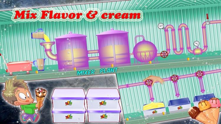 Ice cream Factory 2- Frozen Food Cooking fun game screenshot-3
