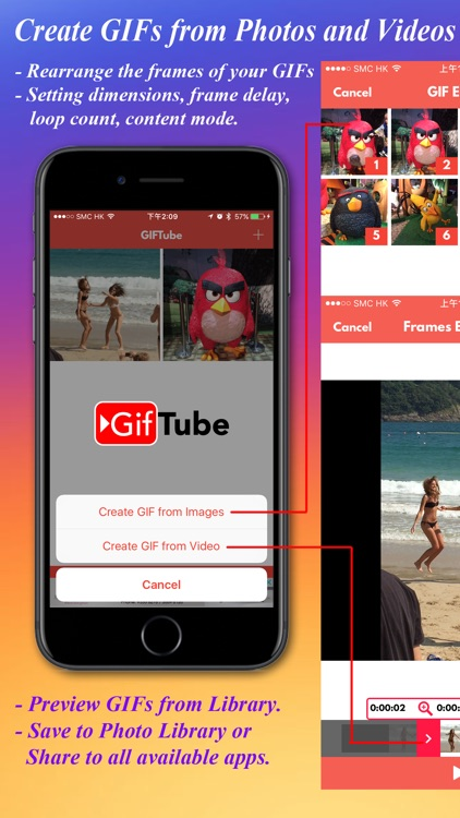 GifTube -Photos & Videos to Gifs for WhatsApp