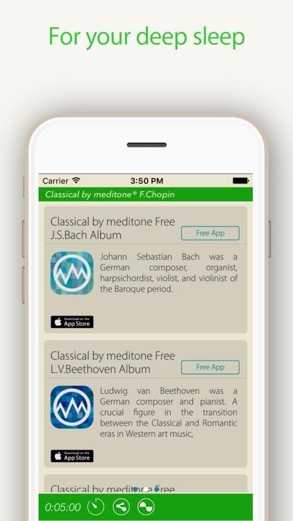 "Relax Classic ""F.Chopin"" by meditone® screenshot-4"
