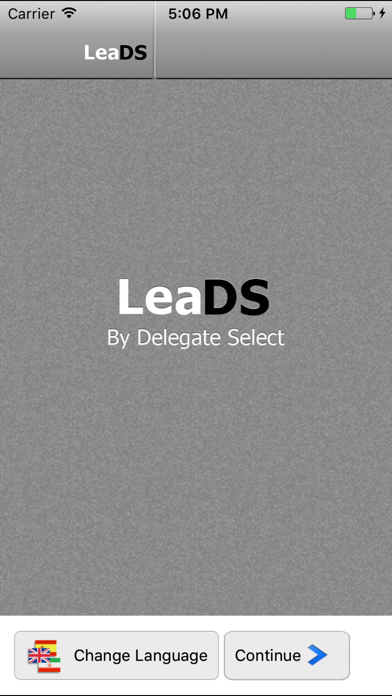LeaDS Exhibitor Lead Retrieval screenshot one