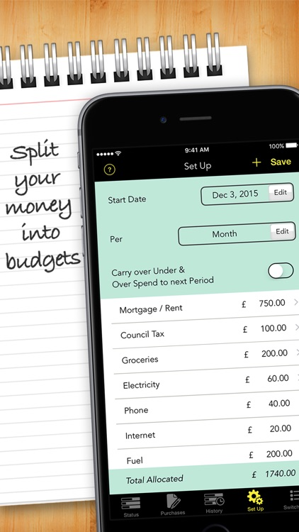 Budgets Pro - Expense Tracker