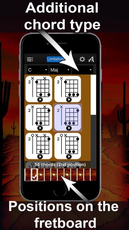 Banjo Chrods Compass Lite: lots of chord charts screenshot-3