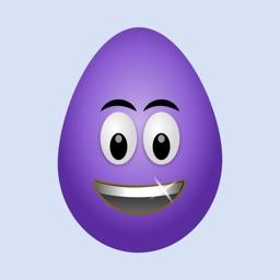 Purple Crazy Eggs