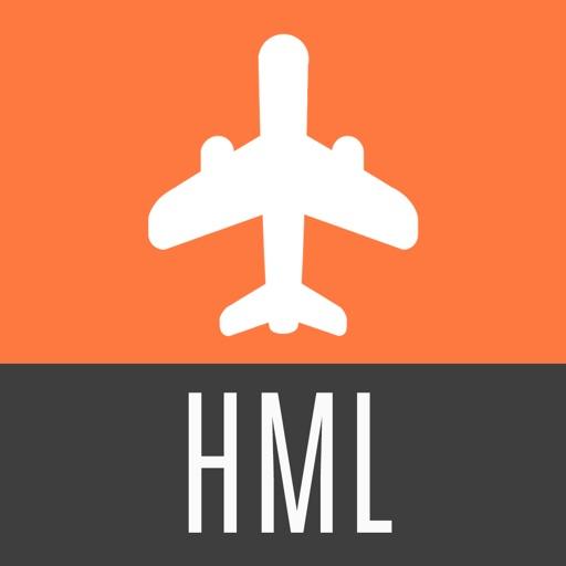 Hamilton Travel Guide and Offline City Map