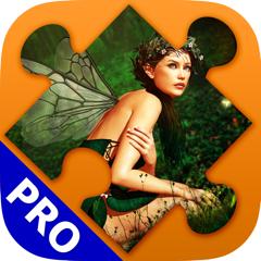 Fantasy Puzzle Spiele für Erwachsene. Premium