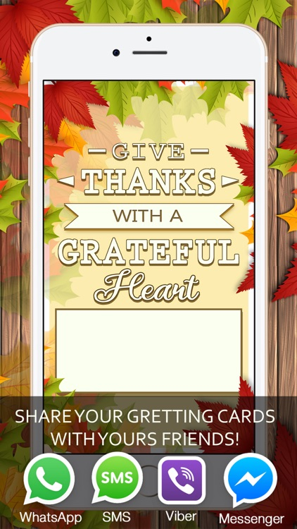 Thanksgiving Invitations and Greeting Card.s screenshot-3