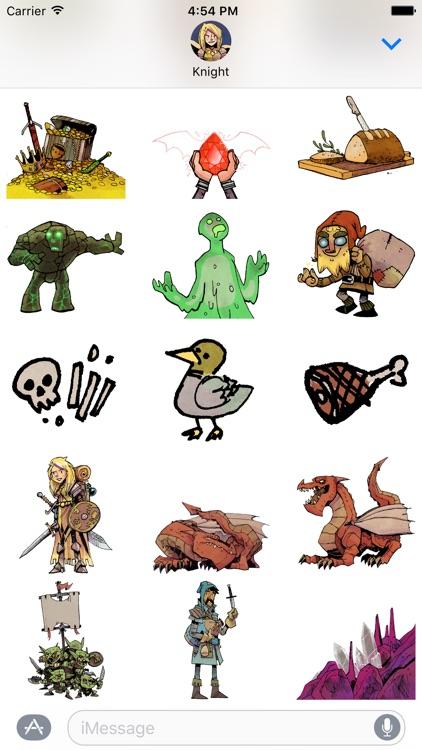 Vast: The Crystal Caverns Stickers screenshot-3