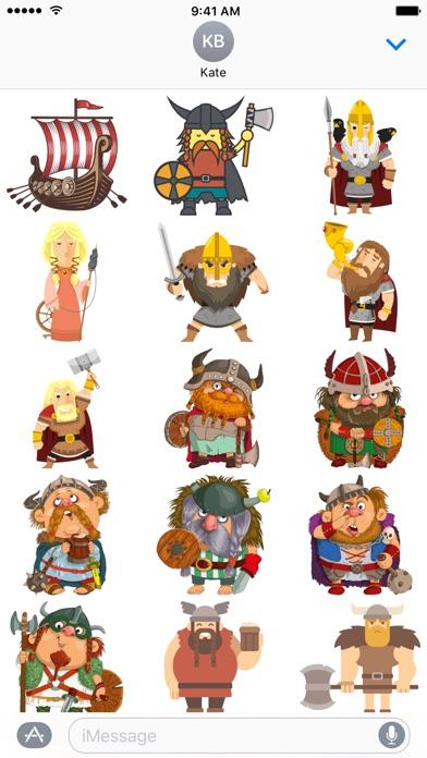 Viking Aufkleber Für Leif Eriksson TagScreenshot von 1