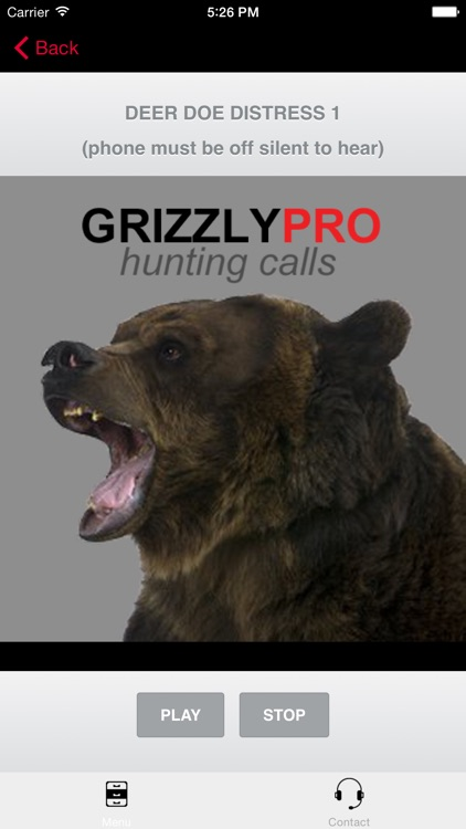 Grizzly Bear Hunting Calls & Big Game Calls