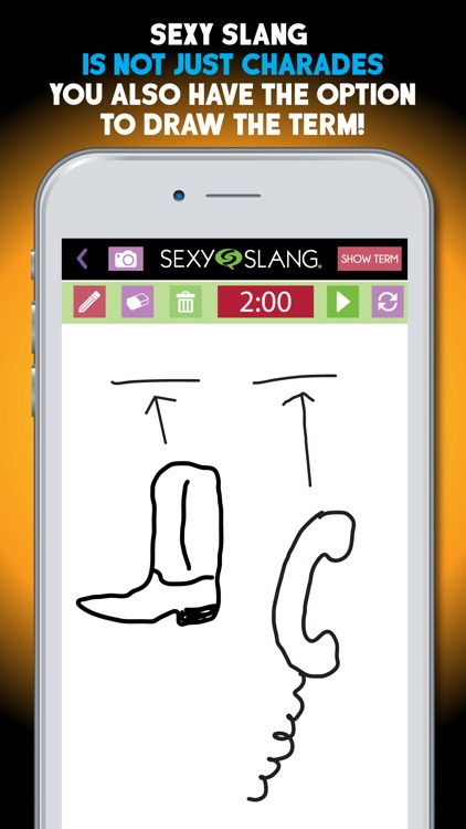 Sexy Slang Adult Party Game of Charades & Drawings screenshot-3
