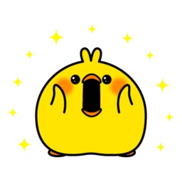 Plump Little Chick Stickers