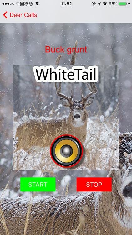 Real Whitetail Hunting Calls & Sounds - Deer screenshot-3