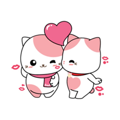 Lovely Kitten Sticker
