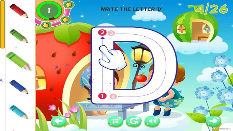 Alphabet Learning for Kids ABC Tracing Letter screenshot-4