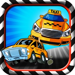 Wrong Way Taxi Driver FREE- Mini Cab Traffic Racer