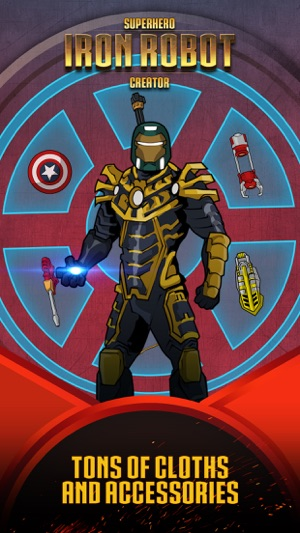 Superhero Iron Robot Creator for Avengers Iron-Man on the App Store