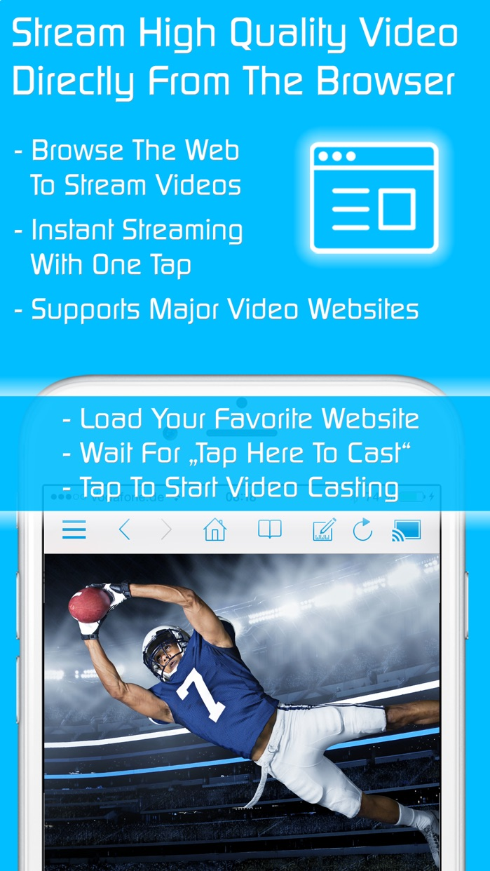 Video & TV Cast | Roku Player Screenshot