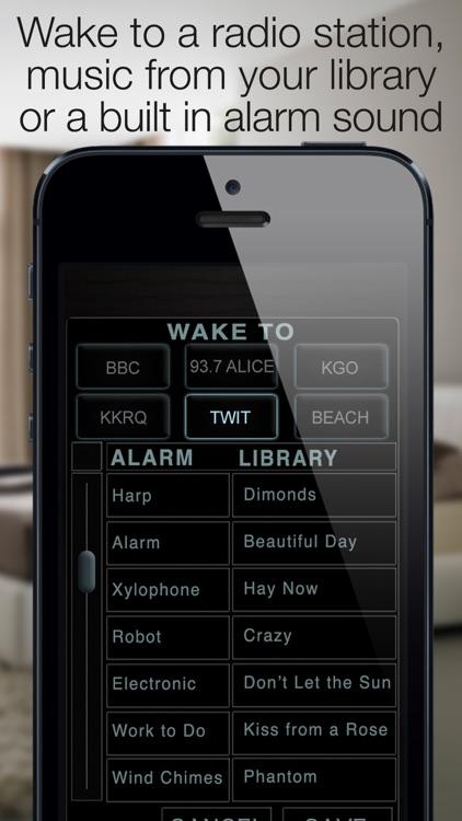 Best Clock Radio & Alarm screenshot-3
