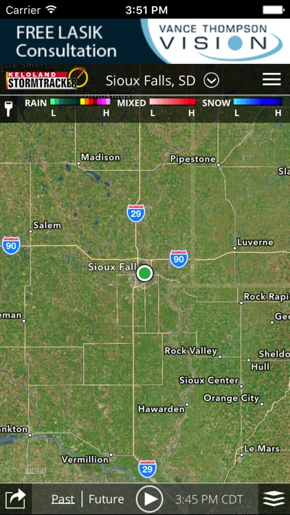 KELO Weather – South Dakota forecasts and radar screenshot-2
