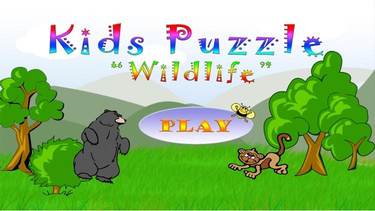 Wildlife Shape Puzzle