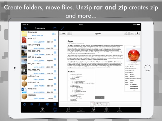 Screenshot #3 for eDl HD Free - Web Browser and File Manager