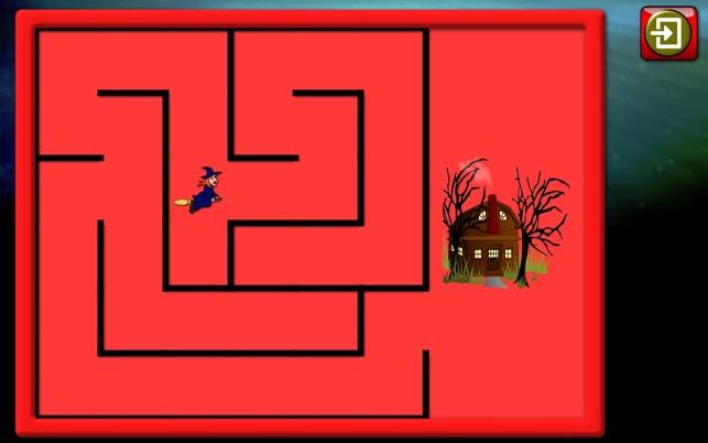 Kinder Halloween Rätsel und Logik-Spiele Screenshot